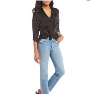 Free People Women's Starry Dreams V-neck Blouse